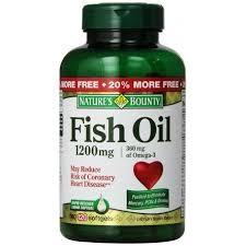 VIÊN DẦU CÁ NATURE'S FISH OIL 1400MG -  890MG OMEGA 3