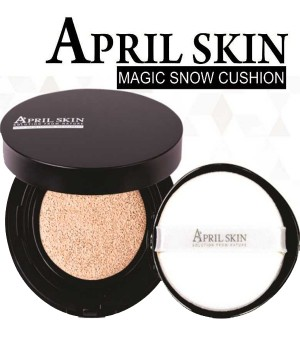 PHẤN NƯỚC MA THUẬT APRIL SKIN MAGIC SNOW  CUSHION SPF 50++