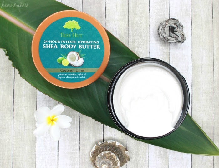 Tree Hut 24 Hour Intense Hydrating Shea Body Butter Coconut Lime