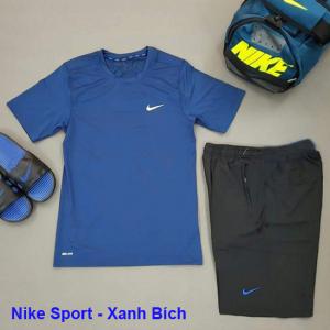 Set thể thao nam Nike Sport Trắng