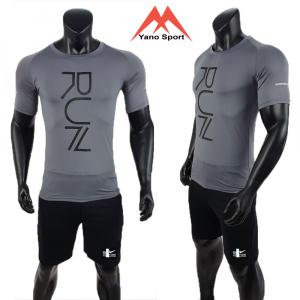 Set thể thao nam Nike Run Man Xám