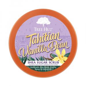 Tẩy tế bào chết cơ thể Tree Hut Shea Sugar Scrub Tahitian Vanilla Bean - 700332