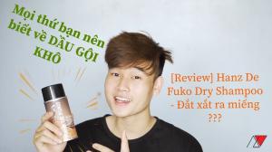 Dầu gội khô Hanz De Fuko Dry Shampoo
