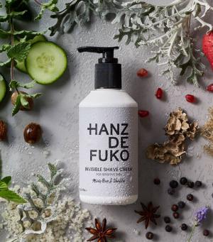 KEM CẠO RÂU HANZ DE FUKO INVISIBLE SHAVE CREAM
