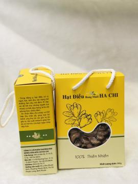Hạt điều rang muối vỏ lụa Hachi A+