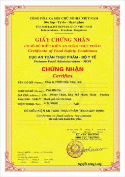 Nấm Linh Chi Nông Lâm NANOLA (200g)