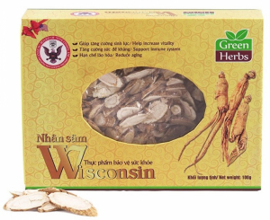 Sâm Wisconsin Hoa Kỳ – Cắt Lát (Hộp 50g)