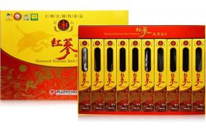 Hồng sâm nguyên củ tẩm mật ong Deadong (Hộp 30g x 10 củ)
