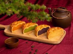 Bánh trung thu Yến Sào Khánh Hòa nhân mềm (hộp 4 bánh x 120gr)