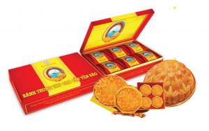 Bánh trung thu Yến Sào Khánh Hòa nhân thập cẩm (Hộp 6 bánh x 200g)