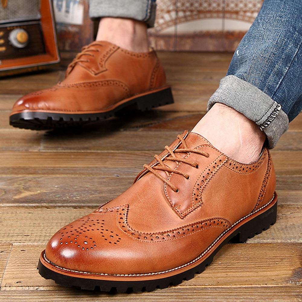Tuyển chọn mẫu giày da đẹp cho mùa đông năm 2020