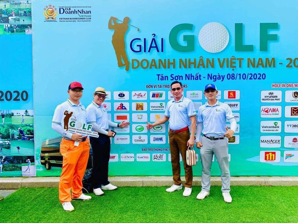 """Kết nối doanh nhân tại """"Giải golf Doanh Nhân Việt Nam 2020"""""""
