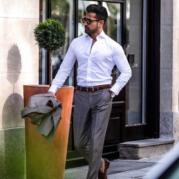Những sai lầm thường mắc của nam giới khi đeo thắt lưng da