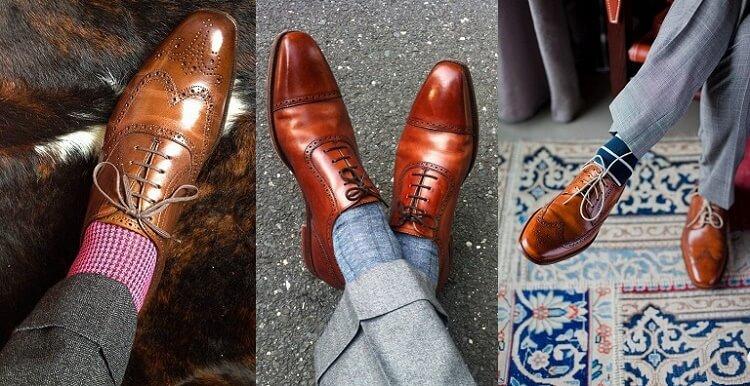 Giày oxford nam DoloMen - Phong cách quý ông cổ điển
