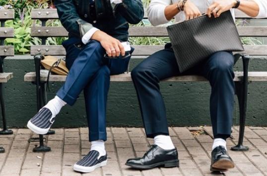Những lỗi mang tất kinh điển khi mang giày nam công sở