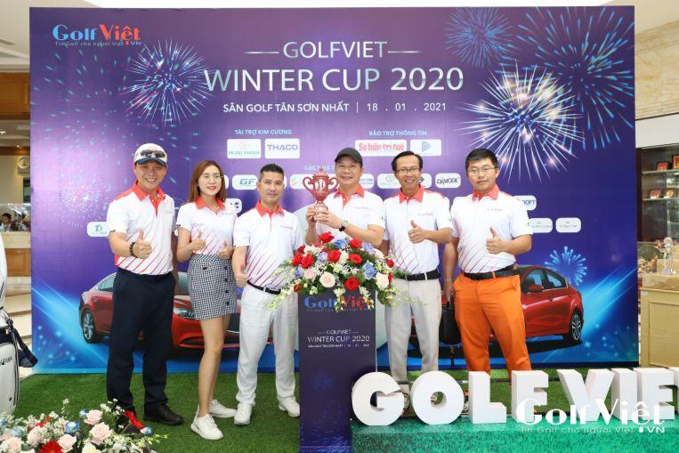 """Dolo Men đồng hành cùng giải Golf """"GolfViet Winter Cup 2020"""""""