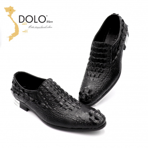 Giày Da Cá Sấu Cao Cấp DOLO Men XGL20
