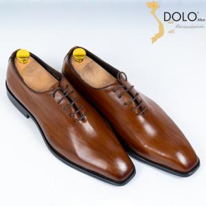 Giày Tây Vân Gỗ DOLOMen XG14