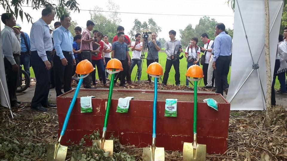 Những hình ảnh tại buổi lễ khởi công xây dựng Cầu Vĩnh Hòa – Sóc Trăng