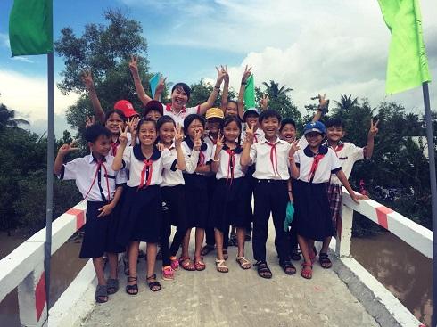 Khánh thành 2 cây cầu tại huyện An Biên, tỉnh Kiên Giang