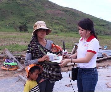 Chia sẻ với đồng bào vùng bão lũ tỉnh Đắk Lắk