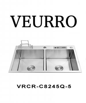 Chậu Rửa Chén Inox 304 Veurro VRCR-KDC8245Q-5