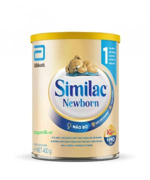Similac Newborn IQ plus HMO / 400g ( 0-6 Tháng)
