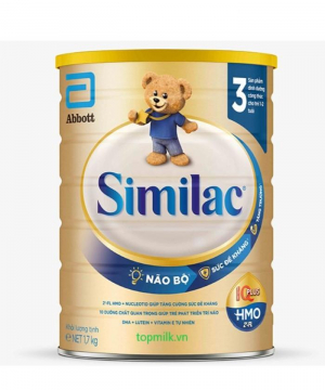 Similac IQ Plus HMO 3 / 1.7Kg ( 1- 2 Tuổi)