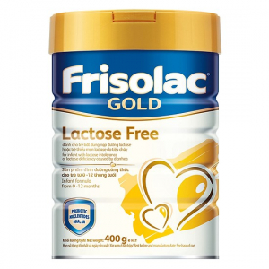 Friso Gold Lactose Free / 400g ( 0 - 12 Tháng)