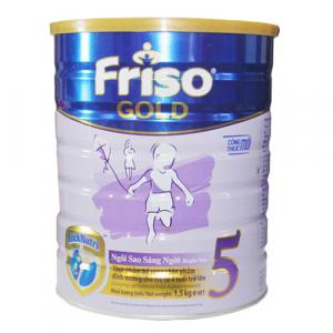 Friso Gold 5 / 1.5kg ( >  4 Tuổi)