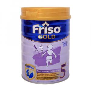 Friso Gold 5 / 900g ( > 4 Tuổi)