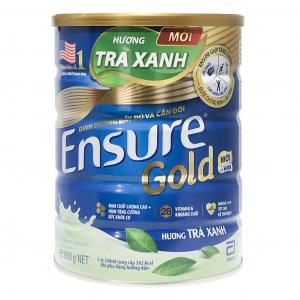 Sữa EnSure Gold Trà Xanh / 850g