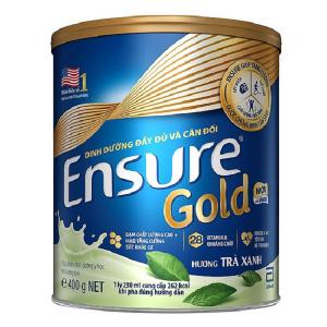 Sữa EnSure Gold Trà Xanh / 400g