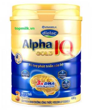 Dielac Alpha Gold IQ 3 / 400g ( 1-2 Tuổi)