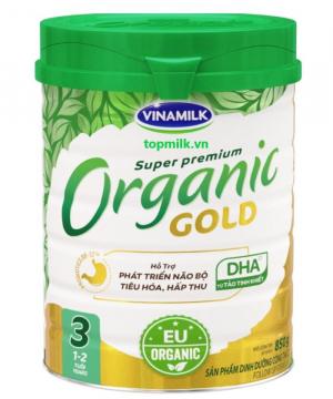 Vinamilk Organic Gold 3 / 850g ( 1- 2 Tuổi)