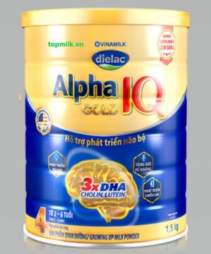 Dielac Alpha Gold IQ 4 / 1.5kg ( 2- 6 Tuổi)
