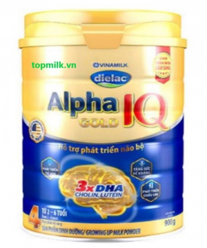 Dielac Alpha Gold IQ 4 / 900g ( 2 -6 Tuổi)