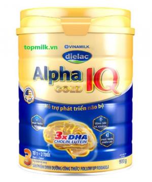 Dielac Alpha Gold IQ 3 / 900g ( 1-2 Tuổi)