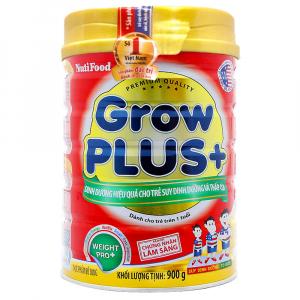 Sữa Bột Nutifood Grow Plus+ Đỏ / 900g ( > 1 Tuổi)