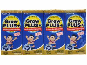 Sữa Bột Pha Sẵn Nuti Grow Plus+  Xanh / 180ml ( >1 Tuổi )