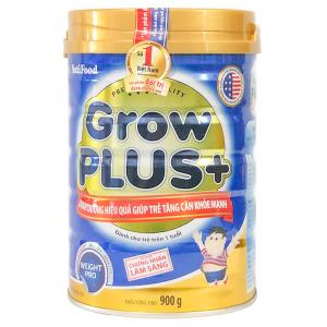 Sữa Bột Nutifood Grow Plus+ Xanh / 900g ( > 1 Tuổi)