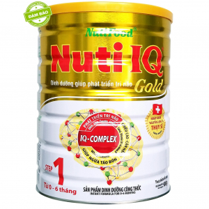 Nuti IQ Gold 1 / 900g ( 0 - 6 Tháng)
