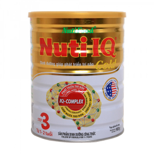 Nuti IQ Gold 3 / 900g ( 1 - 2 tuổi)