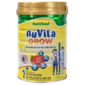 Sữa Nuvita Grow 1+ 900g ( 1 - 3 Tuổi)