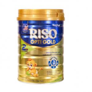 Sữa RISO OPTI GOLD 2 / 900g ( 6-12 tháng)