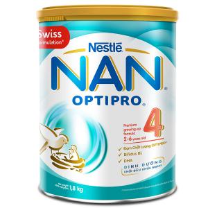 SỮA NAN OPTIPRO 4 / 1.8kg ( 2 - 6 Tuổi)