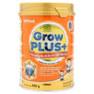 Sữa Bột Nutifood Grow Plus+ Cam / 900g ( > 1 Tuổi)