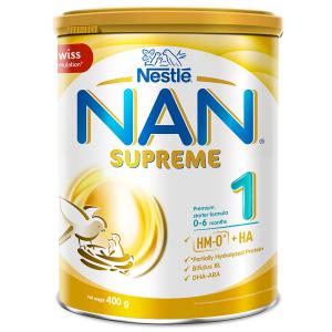 SỮA NAN SUPREME 1 / 400g ( 0-6 Tháng)