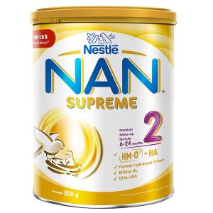 SỮA NAN SUPREME 2 / 800g ( 6 -24 Tháng)