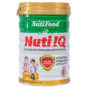 Sữa Nuti IQ 4 / 900g ( 2 - 6 Tuổi)